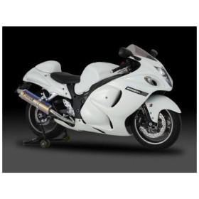 GSX1300R(隼)08年〜 スリップオンマフラー Tri-Ovalサイクロン 2END EXPORT SPEC ST (チタンカバー) YOSHIMURA(ヨシムラ)