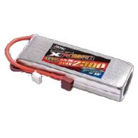ハイテック(HiTEC)/XP2300PHV/Xパワーシリーズ Li-Po 11.4V 2300mAh 30C(for Air)