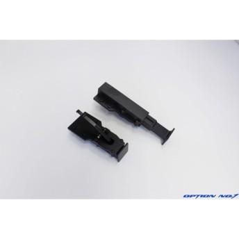 OPTION No.1(オプションNo.1)/HH-UP0039-BK/ 1/14トレーラー用アルミ製サポートレッグ ブラック