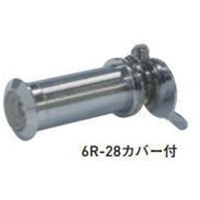 杉田エース (161-214)ドアビューアー ドアビューアー 6R-28カバー付 クロームメッキ