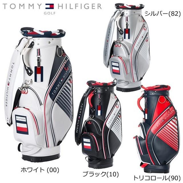 TOMMY HILFIGER GOLF トミーヒルフィガー ゴルフ HONEYCOMB ハニカム カートバッグ (THMG7FC2) キャディバッグ