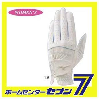 ミズノ ゴルフ手袋 エフィル 45GH931102019 (20cm 左手 レディース ホワイト×サックス) ミズノ mizuno [ゴルフ用品 グローブ 女性用 GOLF golf ]
