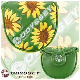 キャロウェイゴルフ Odyssey F Neo Mallet Putter Cover Summer 17 JM オデッセイ F ネオ マレット パターカバー サマー (5517163) 2017限定 ひまわり