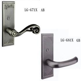 長沢製作所 室内錠 古代NEO 間仕切錠 角長座 LG-G71X/LG-G81Y GB/AB