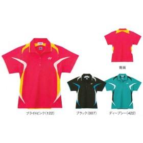 ヨネックス レディースシャツ スリムタイプ 20214 バドミントン テニス 半袖 女性用 ゆうパケット対応 YONEX 2013年秋冬モデル タイムセール4 在庫品