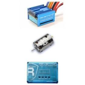 OPTION No.1(オプションNo.1)/SP00010-215/SpeedPassion(スピードパッション) REVENTON-S(ブルー)コンボセット/21.5R(タミヤコネクター)