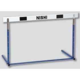 ニシスポーツ プッシュ調節式ハードル(脚部折りたたみ式) 中学校用 G1011C