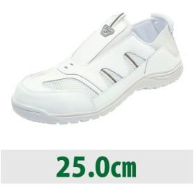 クレオスプラス #810 ホワイト 25.0cm 年間/Wギア/ログアントス/履物/作業履き/紳士用/丸五