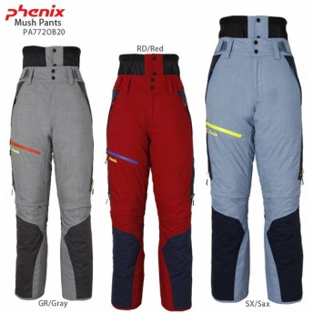 PHENIX〔フェニックス スキーウェア パンツ〕<2018>Mush Pants PA772OB20【MUJI】【SP】