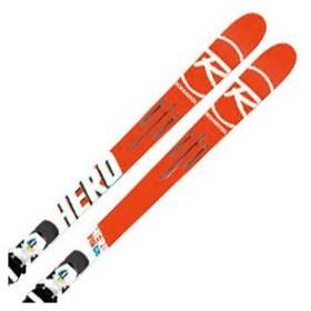 【倍々キャンペーンP5倍】ROSSIGNOL〔ロシニョール スキー板〕<2018>HERO FIS GS R21 RACING + SPX 12 ROCKERFLEX WHITE ICON 金具付き 取付送料無料