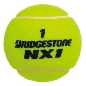 ブリヂストン 硬式 ノンプレ テニスボール エヌエックスワン BBANX1 4個入