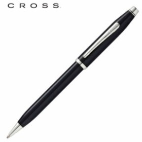 クロス 筆記用具 ボールペン センチュリー ブラックラッカーロジウムプレート AT0082WG-102
