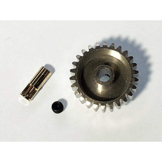 【ネコポス対応】スクエア(SQUARE)/STW-26/Φ2mm変換アダプター&06Mピニオン26Tセット ダンシングライダー用