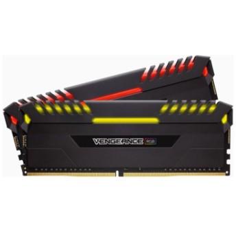 増設メモリ VENGEANCE RGB DDR4 DRAM 2666MHz C16 Memory Kit 16GB 8GB×2枚組 CMR16GX4M2A2666C16 [DIMM DDR4 /8GB /2枚]