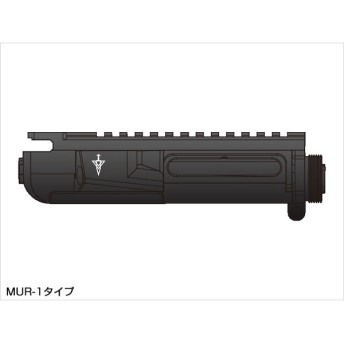LayLax(ライラクス)/LA140555/次世代電動ガンM4シリーズ用MGアッパーフレーム(MUR-1タイプ)
