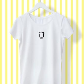食パン パン レディース Tシャツ
