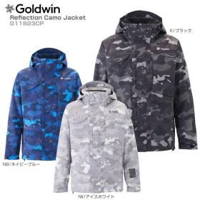 【倍々キャンペーンP5倍】18-19 GOLDWIN〔ゴールドウィン スキーウェア ジャケット〕<2019>Reflection Camo Jacket G11823CP【GARA】