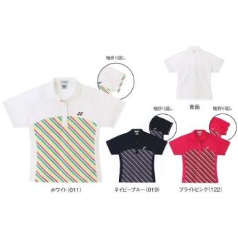 ヨネックス バドミントン テニスウエア レディースシャツ(レギュラータイプ) 20187 30%OFF! ゆうパケット対応 YONEX 2013年モデル