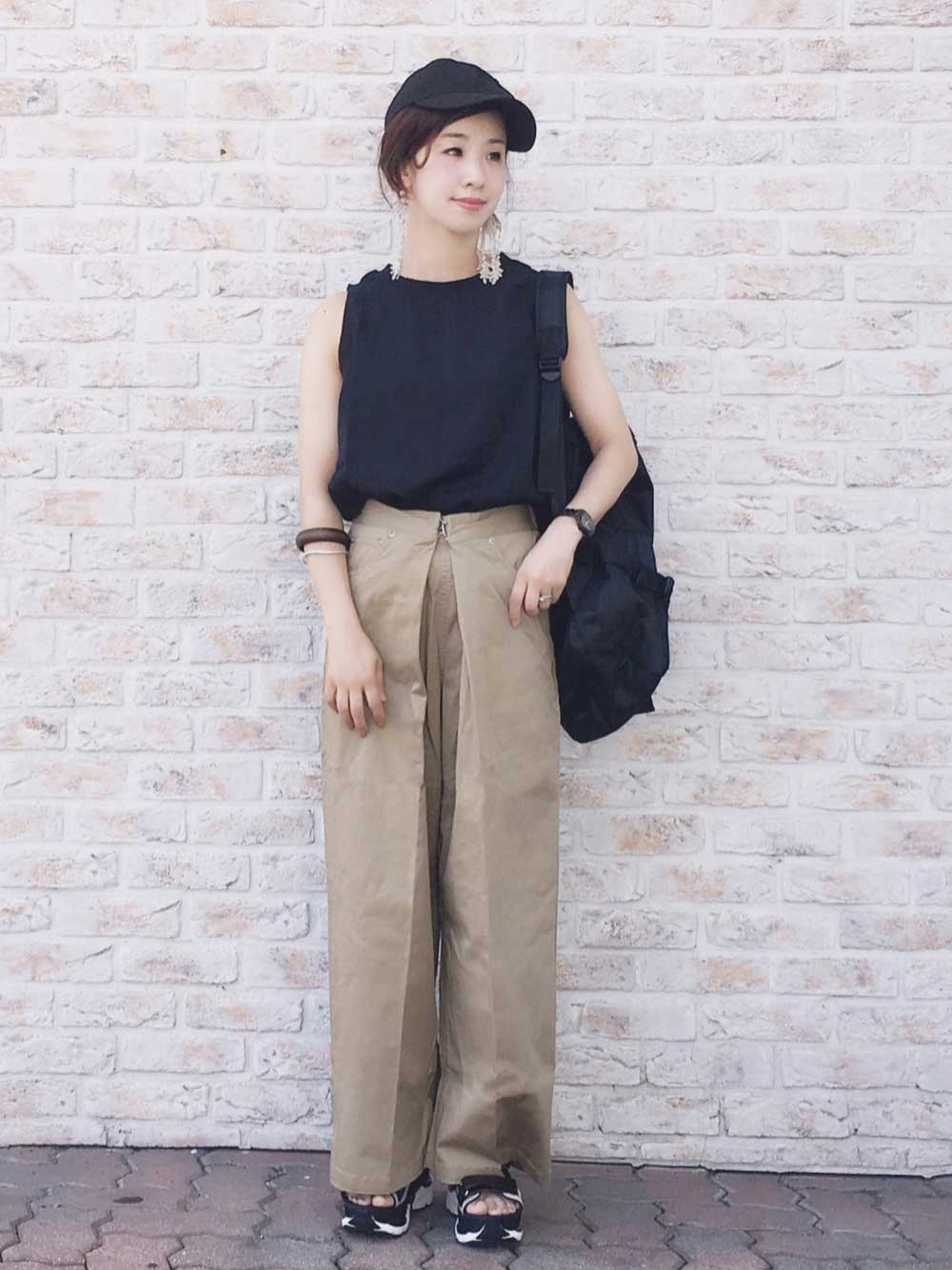 女子力アップの旅行ファッション♡華やぎスポカジコーデ12選