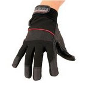おたふく手袋 PU-KING PLUS ピーユー・キング プラス #K-37 本革補強作業軍手 サイズL