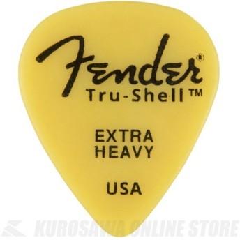 《新生活応援セール!ポイントアップ!》Fender Tru-Shell Picks - 351 Shape EXTRA HEAVY(ピック)(ネコポス)