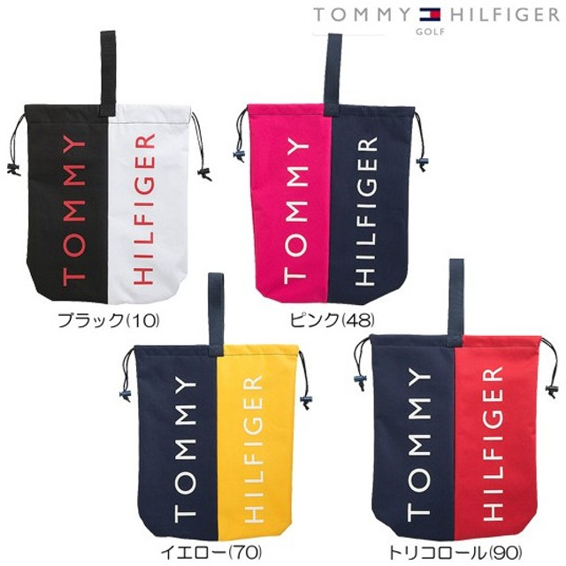 TOMMY HILFIGER GOLF トミーヒルフィガー ゴルフ CONTRAST シューズバッグ (THMG7SB8) コントラスト シューズバッグ