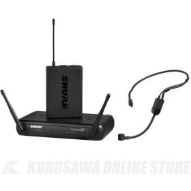 SHURE SVX14/PGA31 ヘッドウォーン・マイクロホン付属ワイヤレスシステム (ワイヤレスシステム)(送料無料)(マンスリープレゼント)