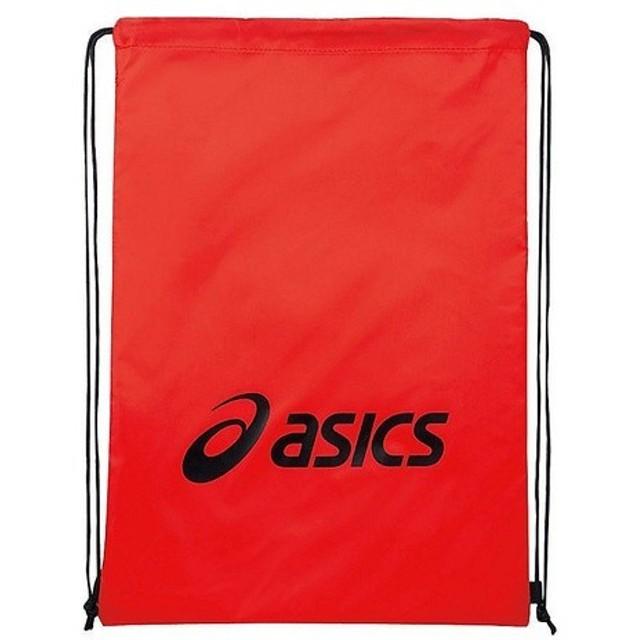 (セール)ASICS(アシックス)スポーツアクセサリー ナップサック ライトバツグL EBG440.2390 F レツド/ブラツク
