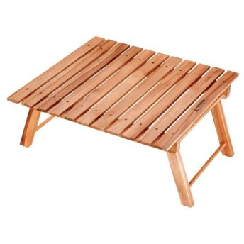 折りたたみテーブル 木製 ロータイプ 2〜3人用 ( ロールテーブル ピクニックテーブル 簡易テーブル )