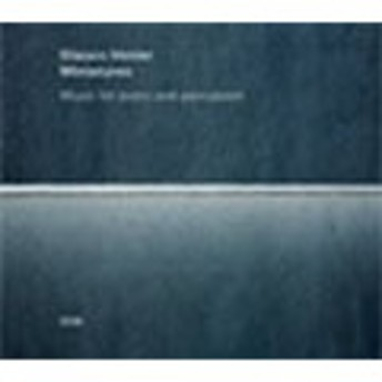Glauco Venier Miniatures: Music for piano and percussion CD