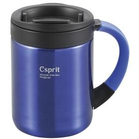 CAPTAIN STAG(キャプテンスタッグ) シーエスプリ ダブルステンレスマグカップ280(ブルー) M5364