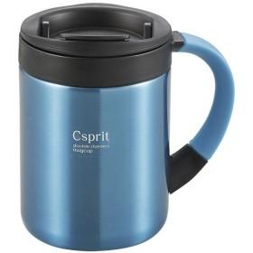 CAPTAIN STAG(キャプテンスタッグ) シーエスプリ ダブルステンレスマグカップ280(ライトブルー) M5365