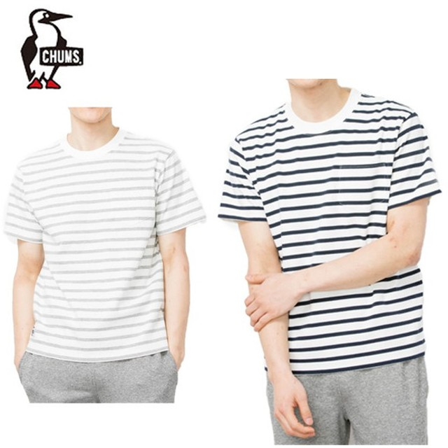 チャムス CHUMS Tシャツ 半袖 メンズ ユタポケットTシャツ トップス Utah Pocket T-Shirt CH01-1328