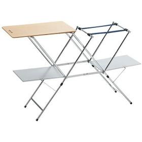(セール)(送料無料)UNIFLAME(ユニフレーム)キャンプ用品 キッチンテーブル 一体型テーブル テーブル キッチンスタンドII WOOD 611791