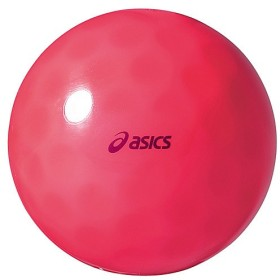 ASICS(アシックス)グラウンドゴルフ ボール クリアーボール デインプルSH GGG325.23 F レツド