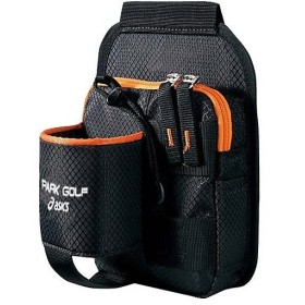 (セール)ASICS(アシックス)パークゴルフ ボトルホルダーツキポーチ GGP456.90 F ブラツク