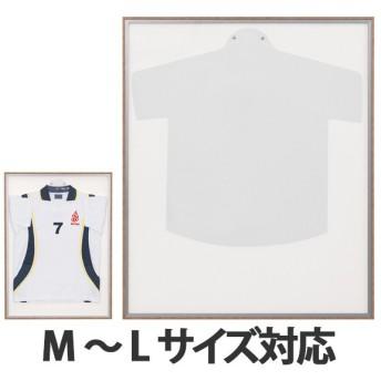 ユニフォーム額 L123 ホワイト Mサイズ ( ユニフォーム 額縁 額 )