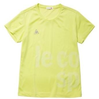 (セール)le coq sportif(ルコックスポルティフ) レディーススポーツウェア Tシャツ 半袖シャツ QMWLJA11 レディース FNO