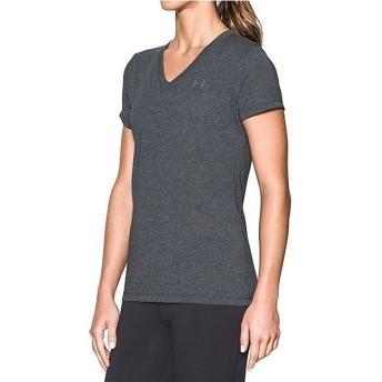 (セール)UNDER ARMOUR(アンダーアーマー)レディーススポーツウェア Tシャツ UA THREADBORNE TRAIN SSV TWIST 1289650 001 レディース 1
