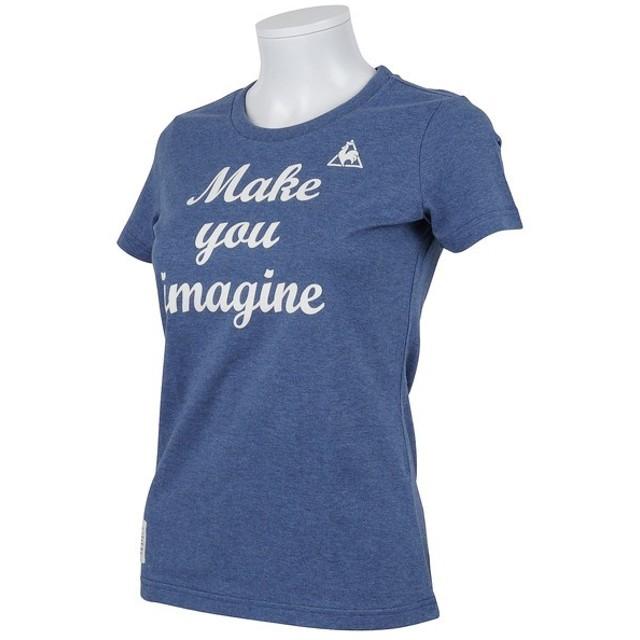 le coq sportif(ルコックスポルティフ) レディーススポーツウェア Tシャツ 半袖シャツ QL-035551 レディース NVB