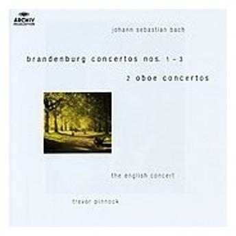 イングリッシュ・コンサート J.S.Bach: Brandenburg Concertos No.1-No.3, Concertos of Oboe d'Amore Strings & Conti CD
