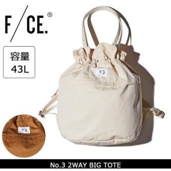 F/CE エフシーイー トートバッグ No.3 2WAY BIG TOTE 【カバン】正規品 FCE フィクチュール FICOUTURE