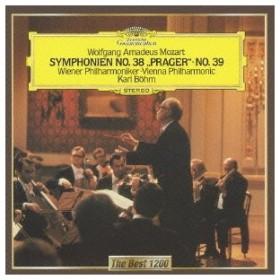 カール・ベーム モーツァルト:交響曲 第38番≪プラハ≫ 第39番 CD