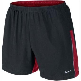 NIKE(ナイキ)ランニング メンズショーツ パンツ 5インチ SWショート 519794 015 メンズ BLACK/RED