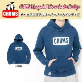 チャムス chums トップス CHUMS Logo Pull Over Parka Indigo チャムスロゴプルオーバーパーカインディゴ 【服】メンズ パーカー