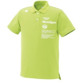 (セール)DESCENTE(デサント)メンズスポーツウェア 半袖機能ポロシャツ 半袖機能ポロシャツ TOUGH ポロシャツ DAT-4504 メンズ CTGN