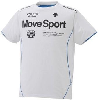 (セール)DESCENTE(デサント)メンズスポーツウェア 半袖機能Tシャツ 半袖機能Tシャツ MOVE COOL Tシャツ DAT-5508 メンズ WHT