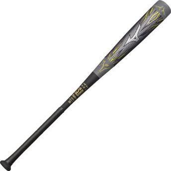(セール)(送料無料)MIZUNO(ミズノ)野球 軟式メタルバッド MEGAKING2 1CJBR11885 メンズ 509 グレーXブラック