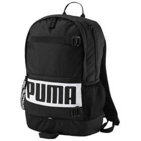 (セール)PUMA(プーマ)スポーツアクセサリー バッグパック プーマ デッキ バックパック 7470601 ブラック