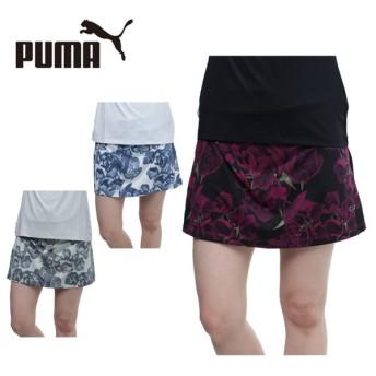 プーマ ゴルフウェア スカート レディース ブルームニットスカート 572265 PUMA